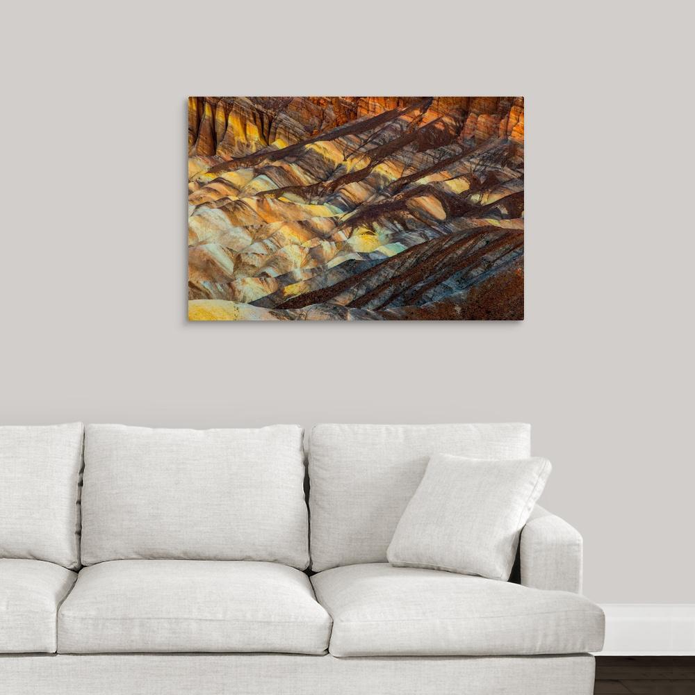 """""""Zabriskie Point"""" by  Tony Sweet Canvas Wall Art"""