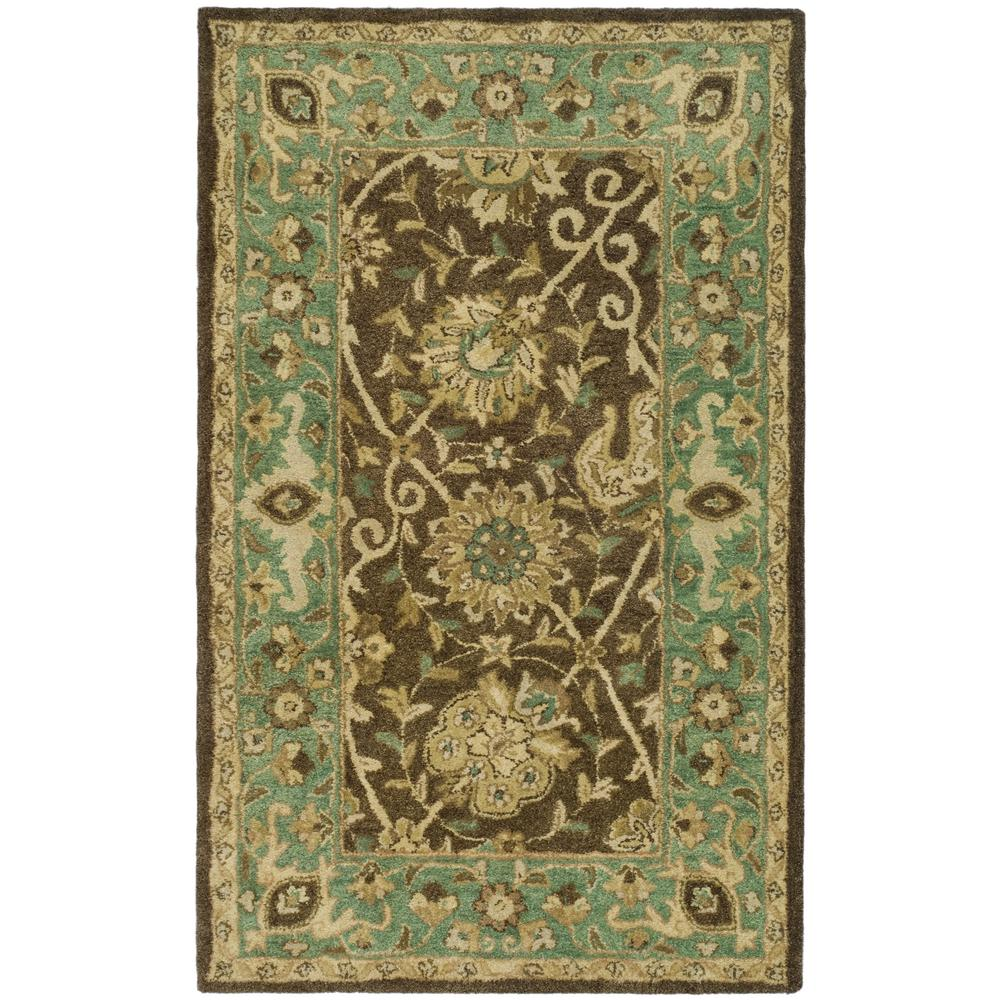 Safavieh Antiquity Brown Green 3 Ft X