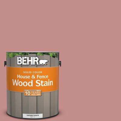 1 gal. #BIC-32 Grand Sunset Solid Color House and Fence Exterior Wood Stain