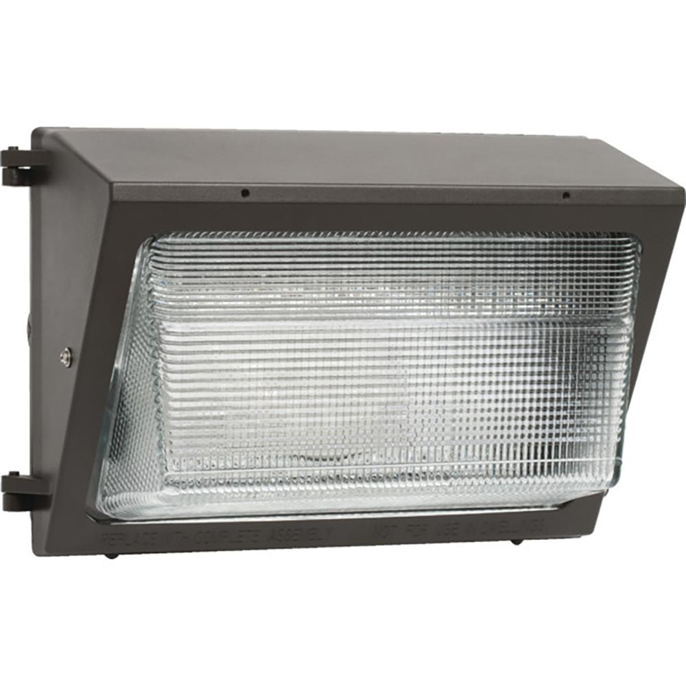 Metal Halide 150-Watt Bronze Outdoor Landscape Flood Light