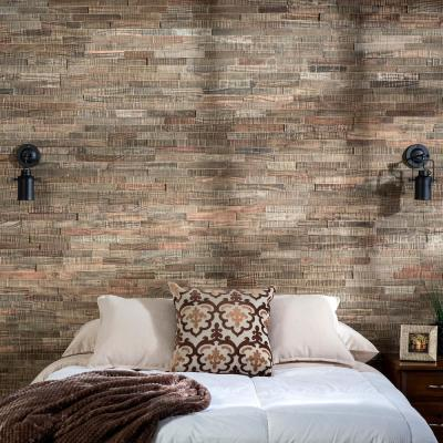 6.5 in. x 0.5 in. Petrefied Forest Matted Wood Tiles