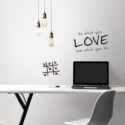 30.75 sq. ft. Dry Erase Peel and Stick Wallpaper
