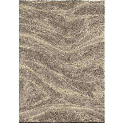 Zebrawood Grey 7 ft. 10 in. x 10 ft. 10 in. Area Rug