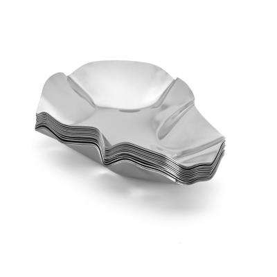 Stainless Steel Oyster Shell, Set of 12