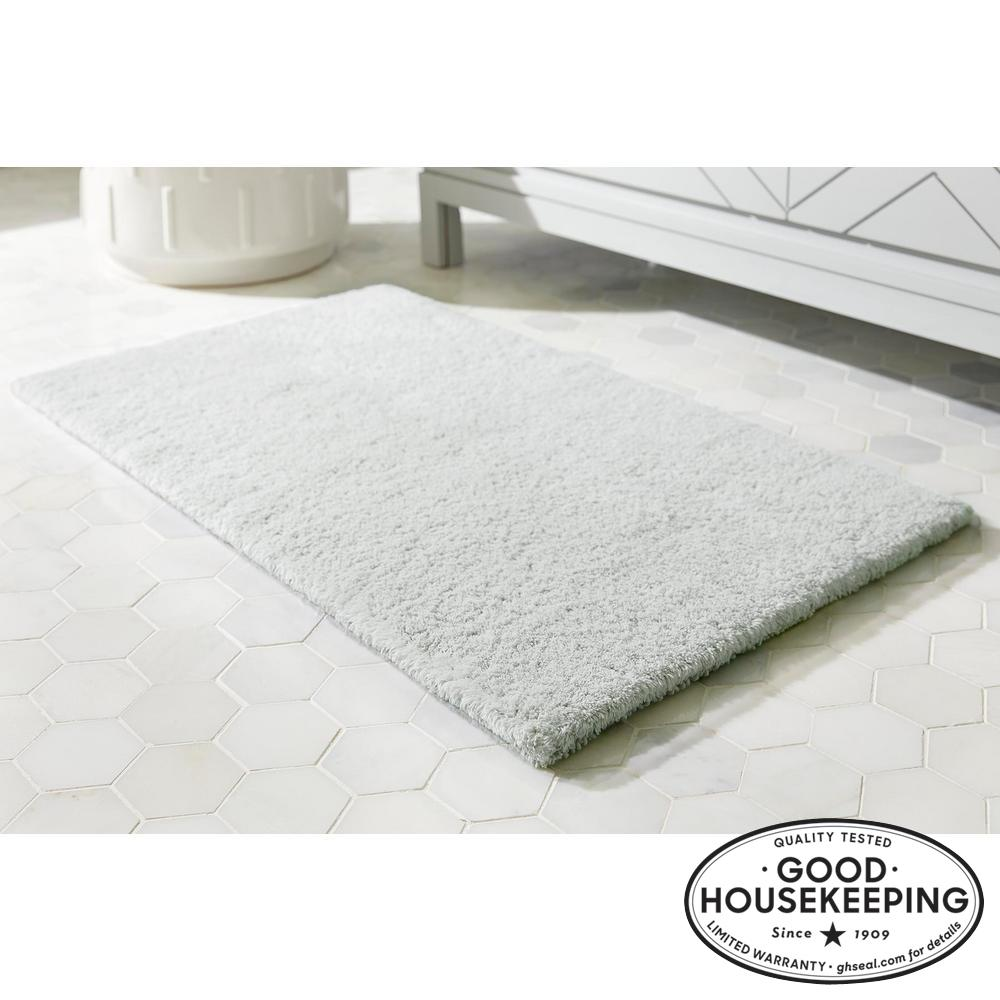 Sage 24 in. x 40 in. Cotton Reversible Bath Rug