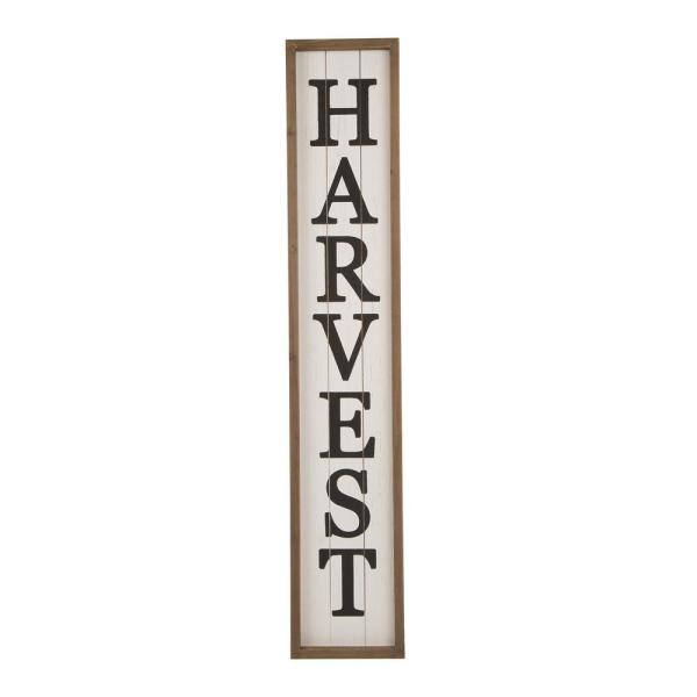 41.73 in. H Wooden Harvest Porch Sign