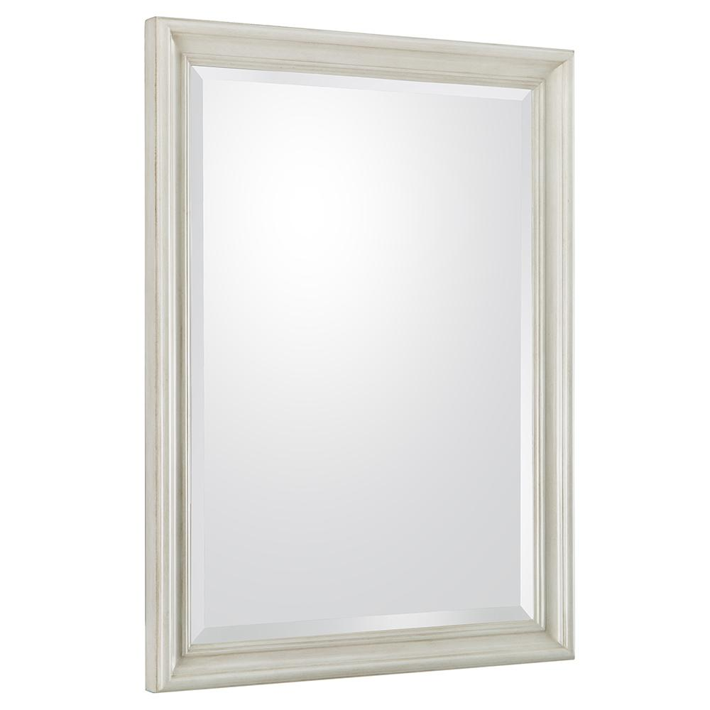 Dellwood 24 in. W x 32 in. H Framed Wall Mirror