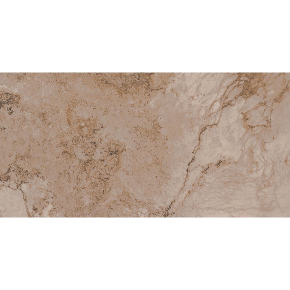 Msi Napa Noce 12 in. x 24 in. Glazed Ceramic Floor and Wa...