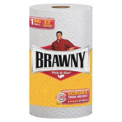 Pick-A-Size White Paper Towels 2-Ply (102 Sheets per Roll)