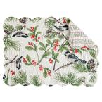 April Cornell Chickadee Green Placemat (Set of 6)