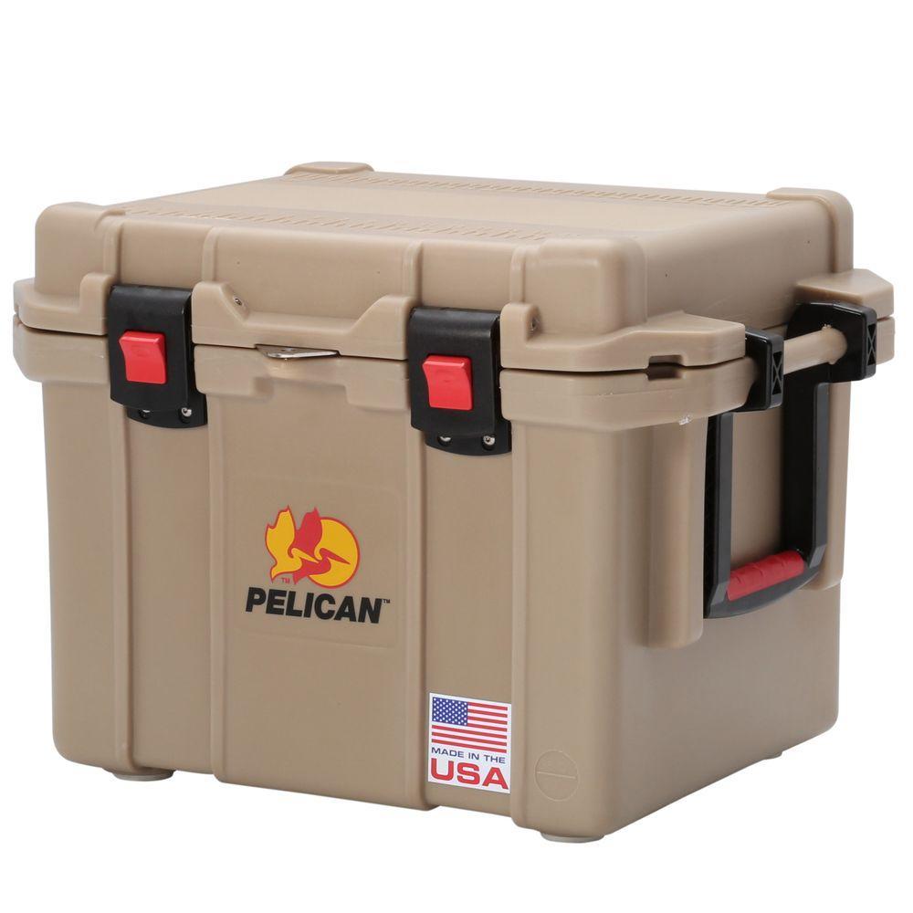 Pelican ProGear 35 Qt. Tan Elite Marine Cooler