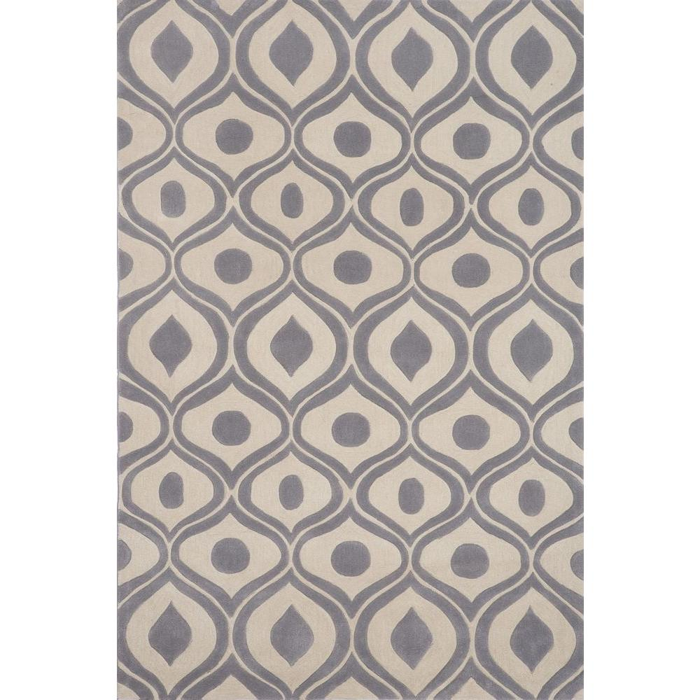 Bliss Grey 2 ft. x 3 ft. Area Rug