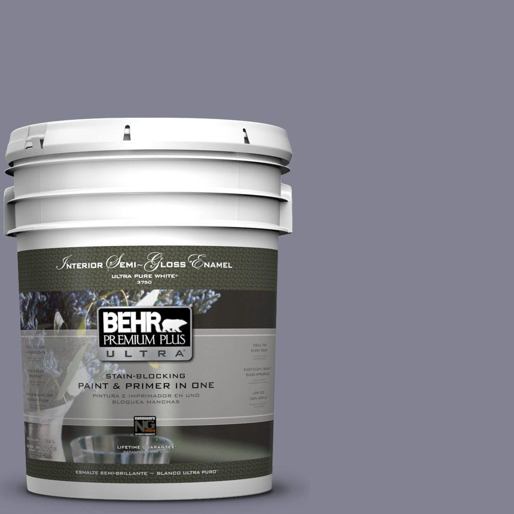 BEHR Premium Plus Ultra 5-gal. #BNC-19 Formal Affair Semi-Gloss Enamel Interior Paint