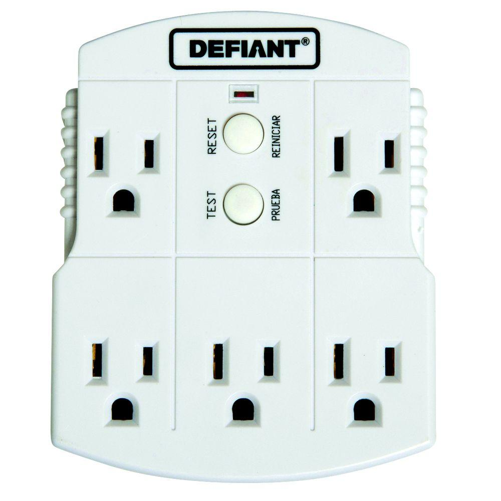 Defiant GFCI 5-Outlet Adapter