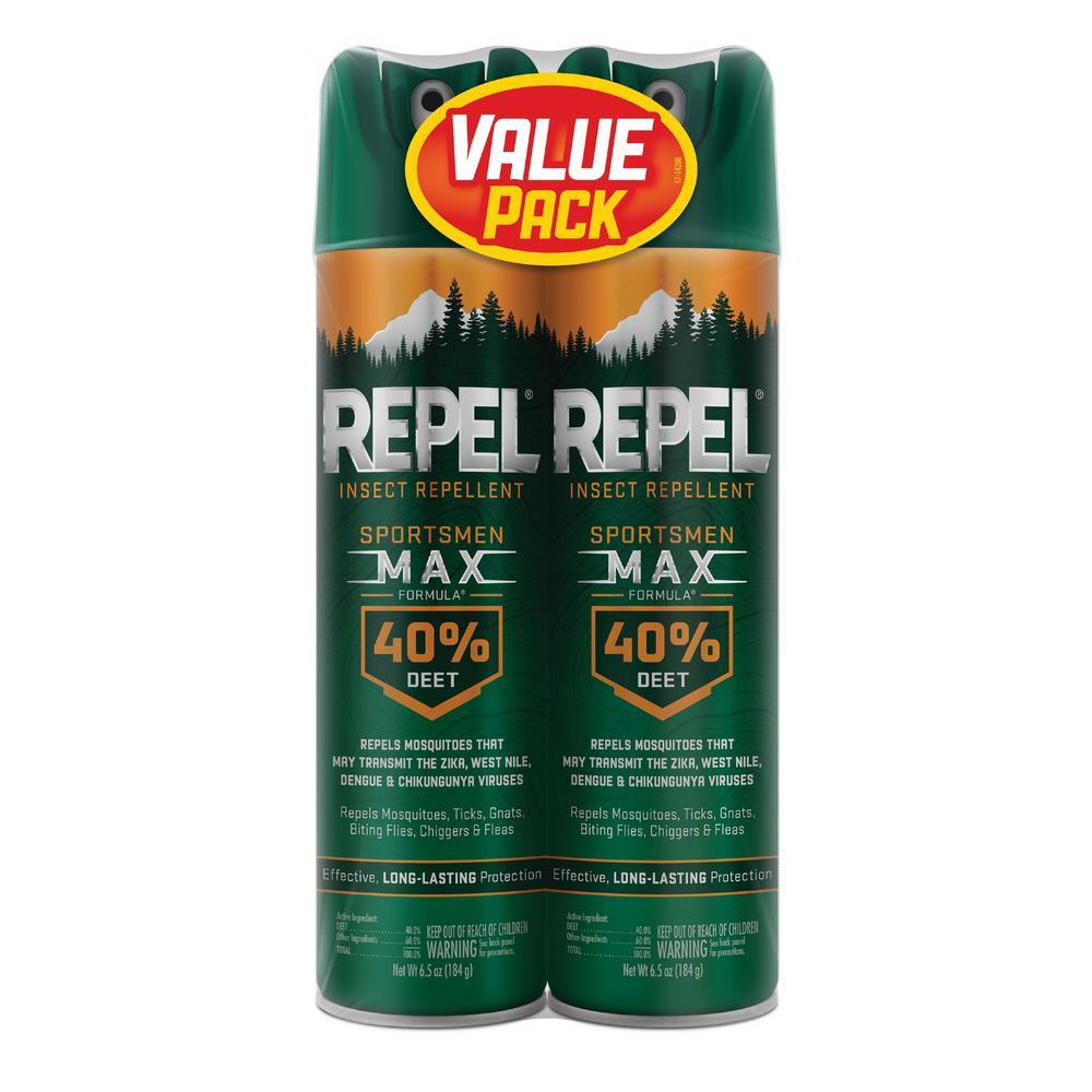 Sportsmen Insect Repellent Max 6.5 oz. Bundle (2-Pack)