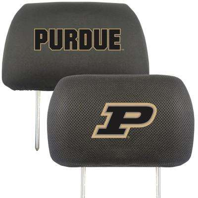 NCAA Purdue University Embroidered Head Rest Covers (2-Pack)