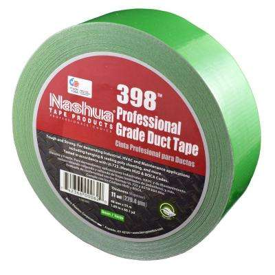 1.89 in. x 60.1 yds. 398 All-Weather Green HVAC Duct Tape