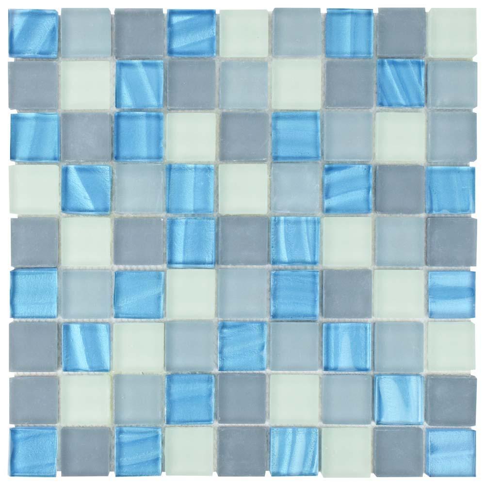 Atlantis Abalone 11-3/4 in. x 11-3/4 in. x 8 mm Glass