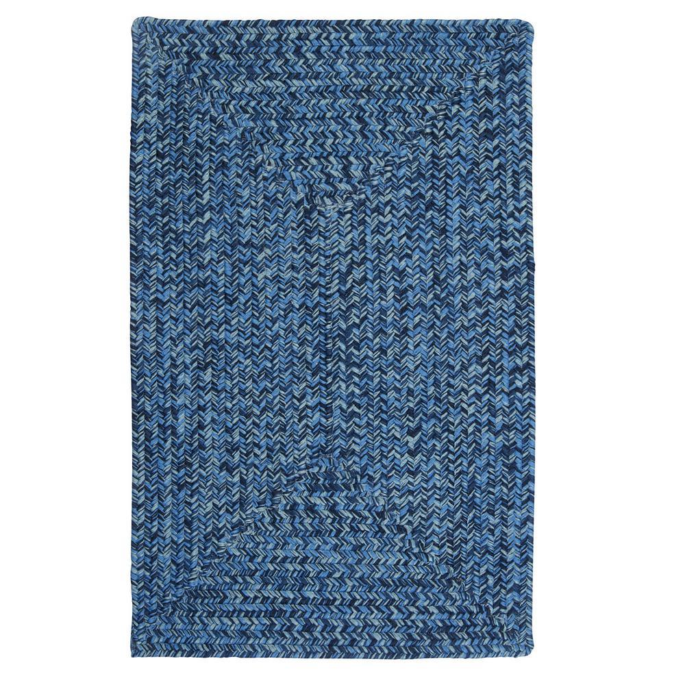 Marilyn Tweed Ocean Wave 2 ft. x 10 ft. Braided Runner Rug