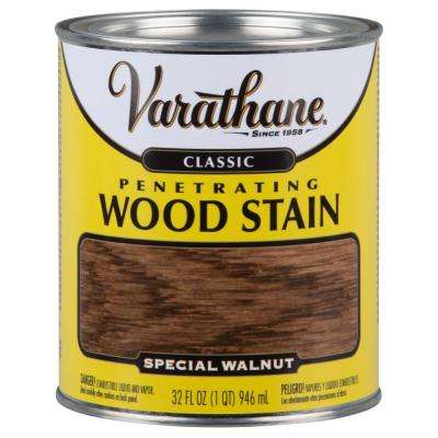 1 qt. Special Walnut Classic Wood Interior Stain (2-Pack)