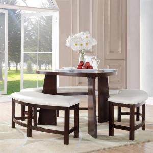 Internet #202983988. Nassau 4 Piece Cherry Dining Set