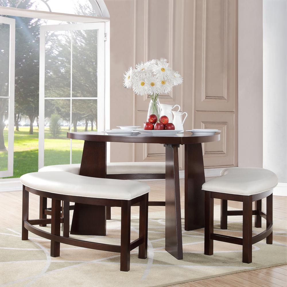 Home Decorators Collection Nassau 4 Piece Cherry Dining Set