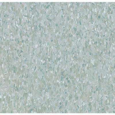 Take Home Sample - Imperial Texture VCT Teal Standard Excelon Commercial Vinyl Tile - 6 in. x 6 in.