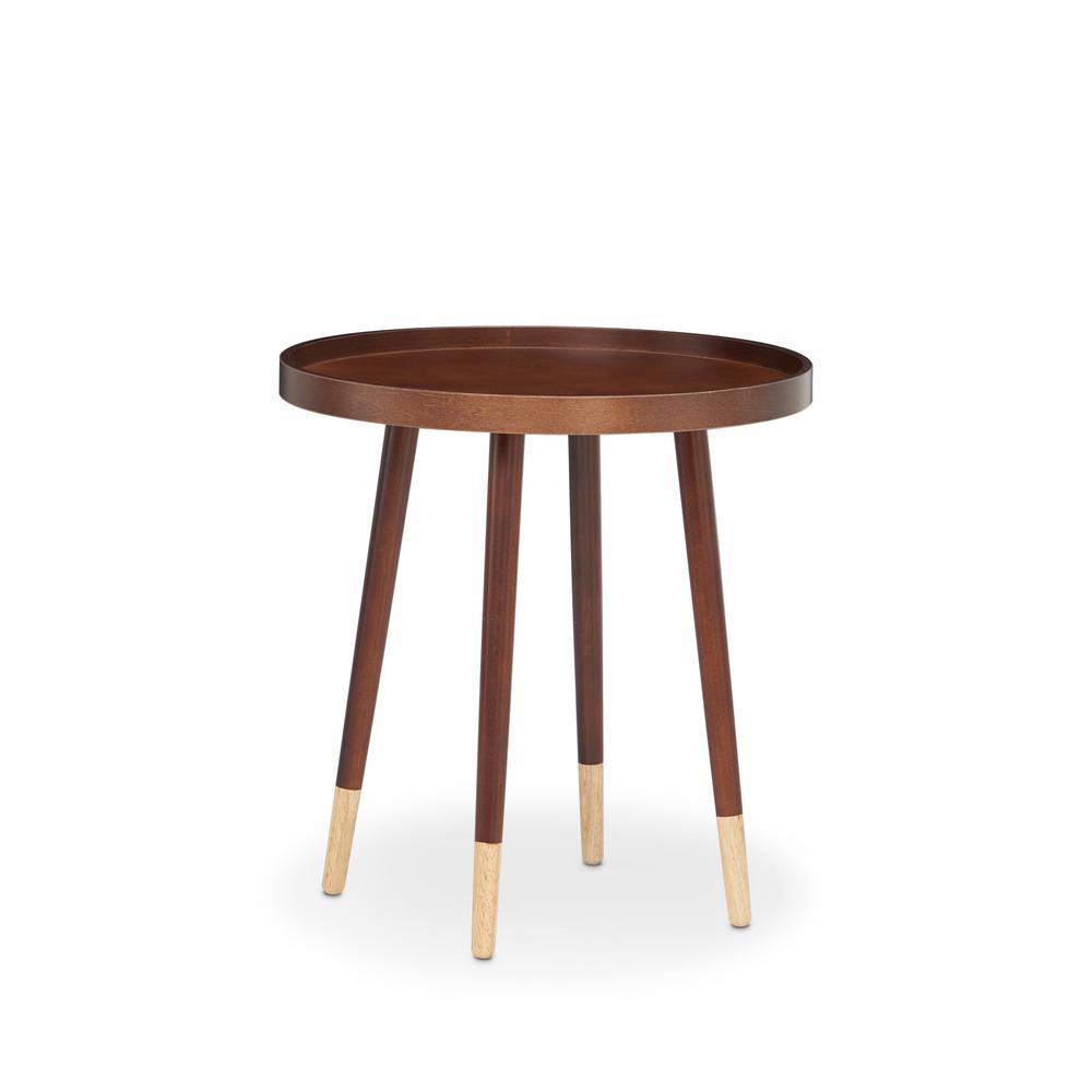 ACME Furniture Dein End Table in Walnut