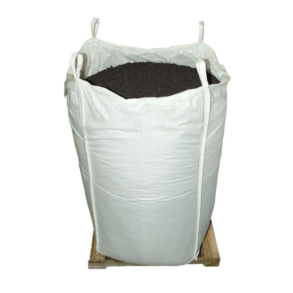 76.9 cu. ft. Espresso Black Rubber Mulch