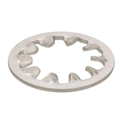#8 Stainless Steel Internal Tooth Lock Washers (3-Pieces)