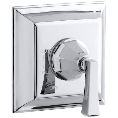 Memoirs Stately 1-Handle Tub and Shower Faucet Trim Kit with Deco Lever Handle in Polished Chrome (Valve Not Included)