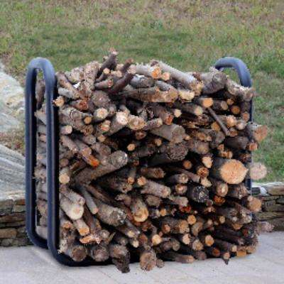 2 ft. Hearthside Firewood Log Rack Storage Crib Steel
