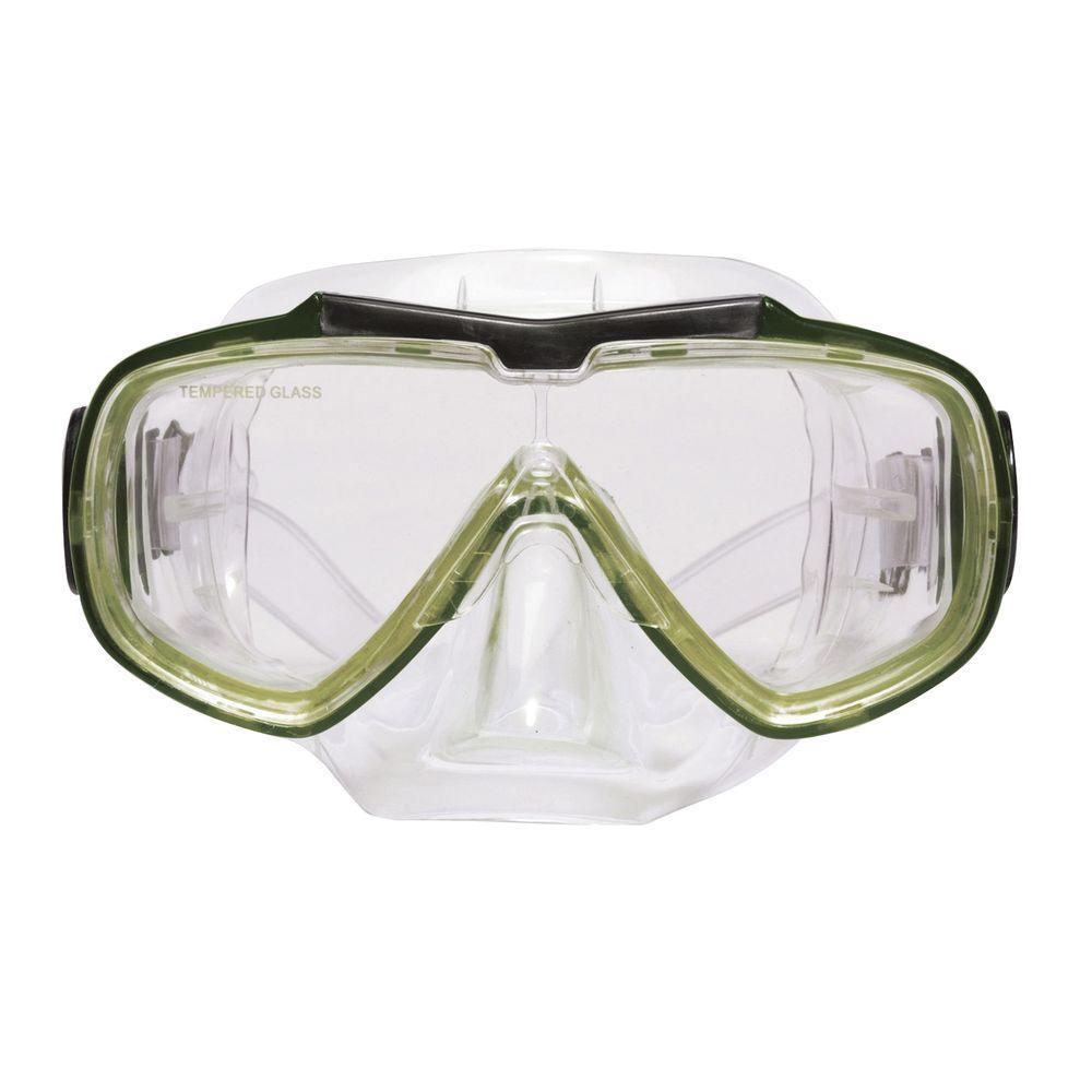 Green Baja Scuba Mask
