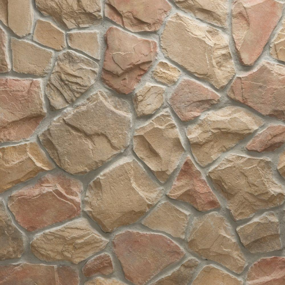Veneerstone field stone cordovan flats 10 sq ft handy for Manufactured veneer stone