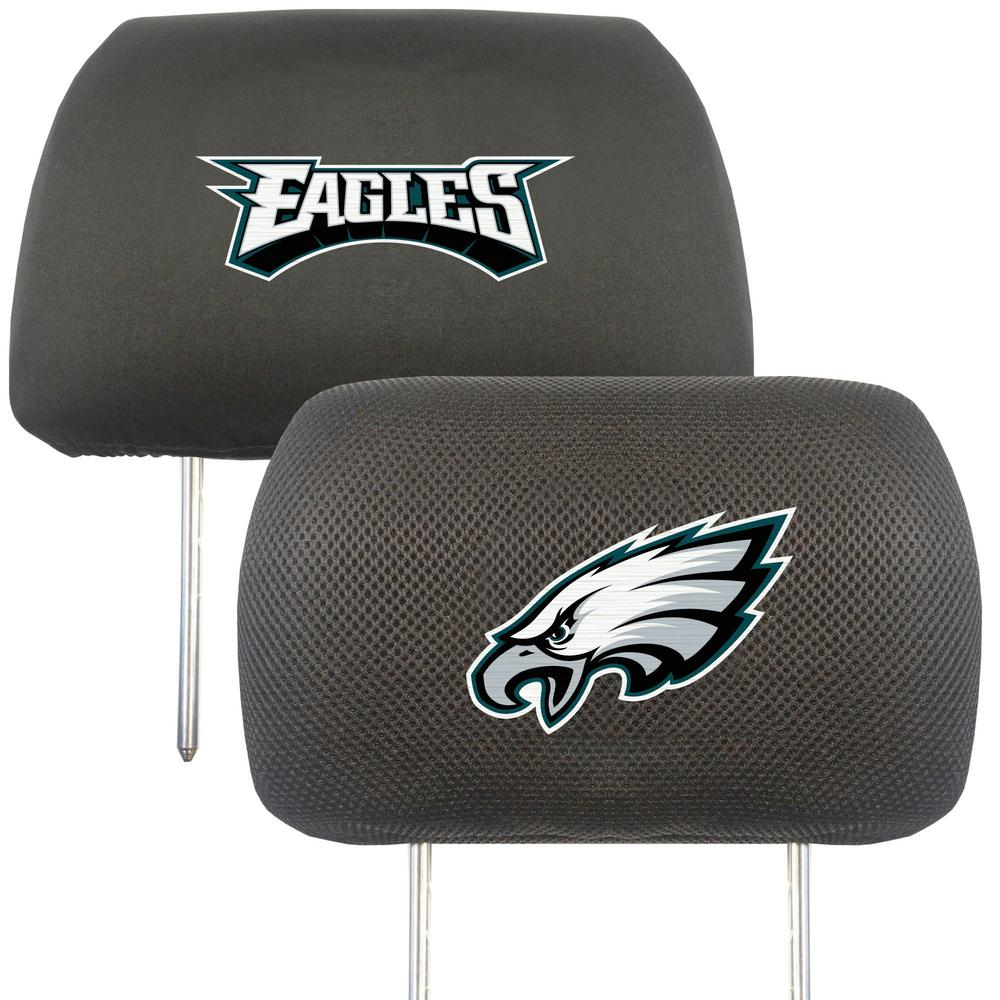 Fanmats 12511 Head Rest Cover NFL Philadelphia Eagles