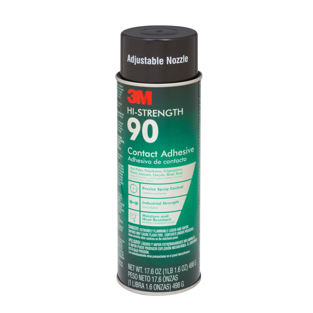 3M 17.6 oz. Hi-Strength 90 Spray Adhesive-90-24 - The Home Depot