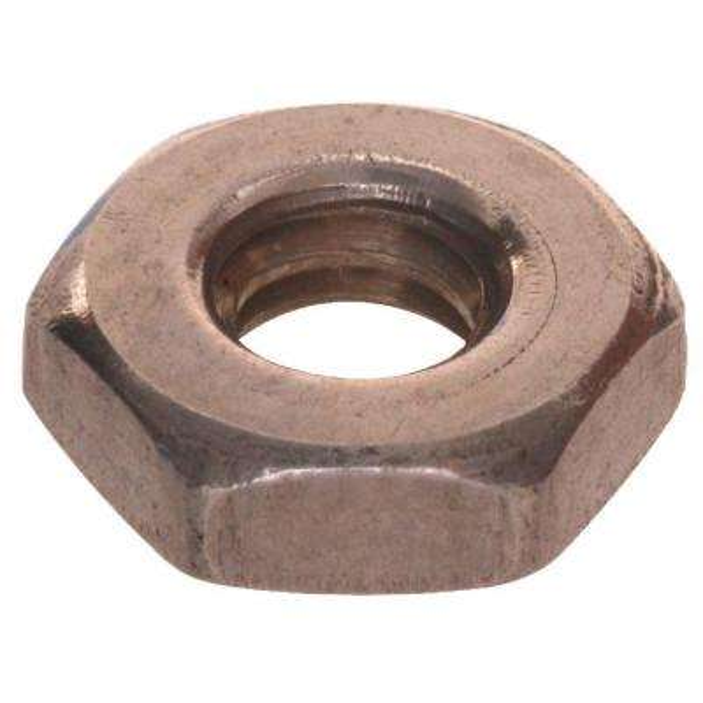 "3/8""-24 Stainless Steel Jam Nut (20-Pack)"