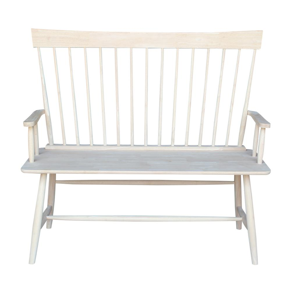 International Concepts Unfinished Bench Be 1: International Concepts Unfinished Bench-BE-60T
