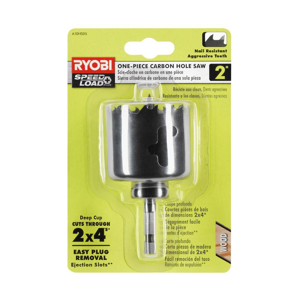 2 in. 1-Piece Hole Saw Power Tool Drilling Wood Cutting Attachment Drill Bit New