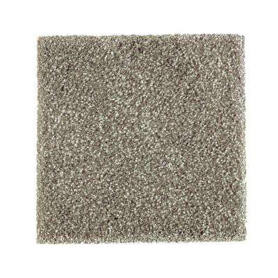 Carpet Sample - Whirlwind II - Color Mountain Mist Texture 8 in. x 8 in.