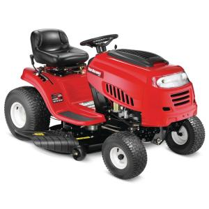 Yard Machines 42 inch 420cc OHV Engine Gas 7-Speed Manual Lawn Tractor with Mow... by Yard Machines