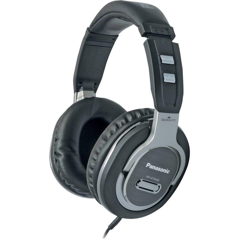 Panasonic DJ Style Monitor Headphones - Black