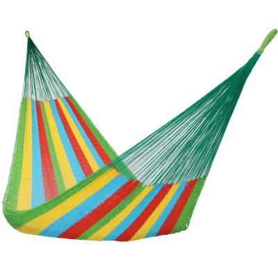 13 ft. Hand Woven Family Mayan Hammock Bed in Multi-Colored