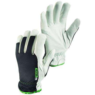 Kobolt Winter Size 11 XX-Large Cold Weather Goatskin Leather Glove in White and Black