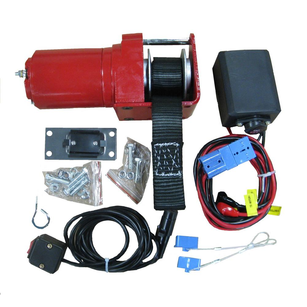 SNOWBEAR Complete Winch Kit with Strap