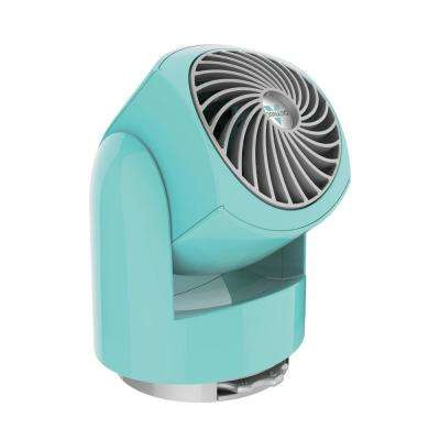 Flippi V6 3.4 in. Personal Circulator Fan in Bliss Blue