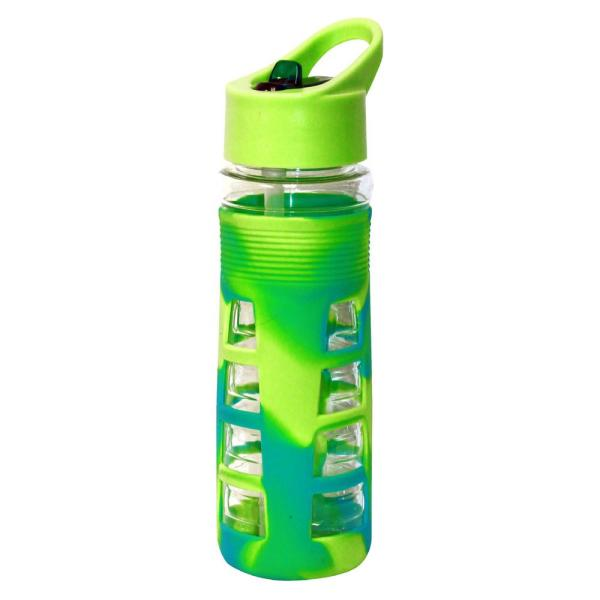 6301346202 Green Canteen 25 oz. Blue and Green Plastic Tritan Hydration Bottle (6-Pack