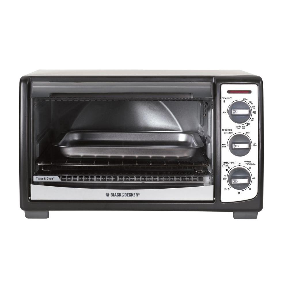 BLACK+DECKER 4-Slice Convection Toaster Oven
