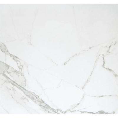 Duomo Bianchi 12.99 in. x 12.99 in. Porcelain Floor and Wall Tile (12.892 sq. ft. / case)