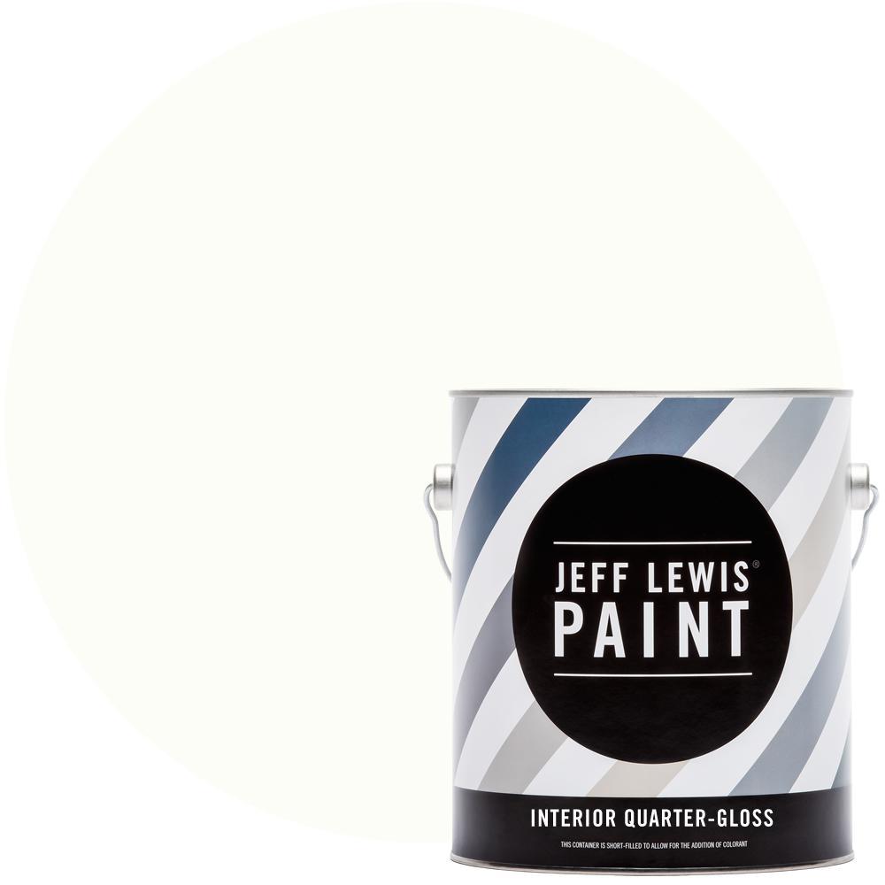 1 gal. #611 Pearl Bracelet Quarter-Gloss Interior Paint